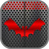 Metal Bat Zip Screen Lock icon
