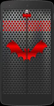 Metal Bat Zip Screen Lock poster