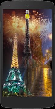 Paris Zipper Screen Locker poster