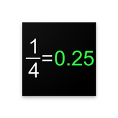 Fraction to Decimal Practice icon