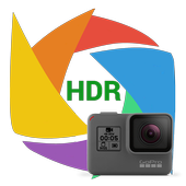 HDR app for GoPro Hero icon