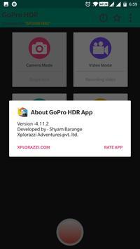 HDR app for GoPro Hero screenshot 4