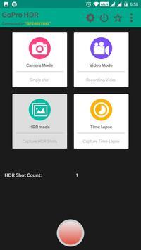 HDR app for GoPro Hero screenshot 1