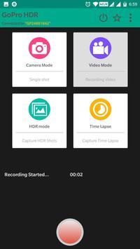 HDR app for GoPro Hero screenshot 2