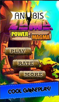 anubis zuma game - power of magma poster