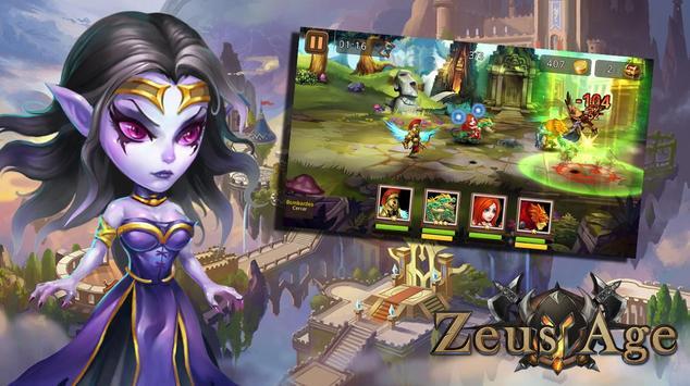 Zeus Age - RPG poster