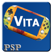 New Vita Psp  - All roms  Games – Emulator ! icon
