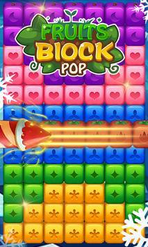 Fruits Block Pop poster