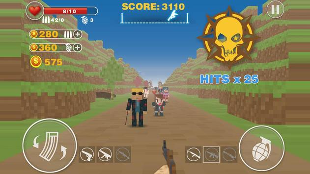 Zombie Killer:pixel edition apk screenshot