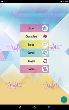 Violetta Tini FAN APP apk screenshot