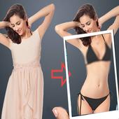 Xray Cloth Body Scanner Camera Simulator Prank icon