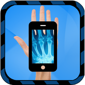 X-ray Hand Simulated icon