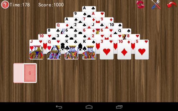 Pyramid Solitaire apk screenshot