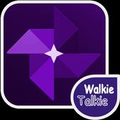 워키토키 무전기 PTT 무폰 WalkieTalkie icon