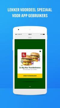 McDonald's Nederland APK-screenhot