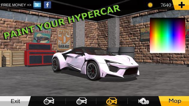 Hypercar Simulator screenshot 1