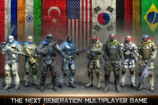国の戦争:戦場の生存射撃ゲーム ポスター