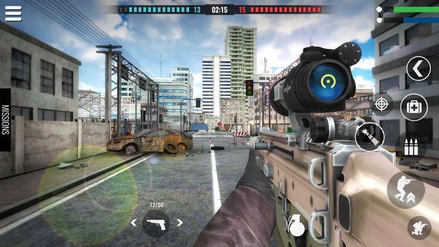 国の戦争:戦場の生存射撃ゲーム スクリーンショット 4