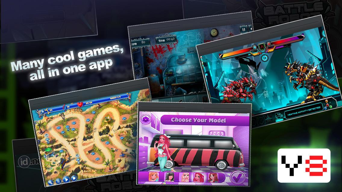 Y8 Mobile App- one app for all your gaming needs  for