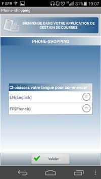 Phone shopping (free) poster