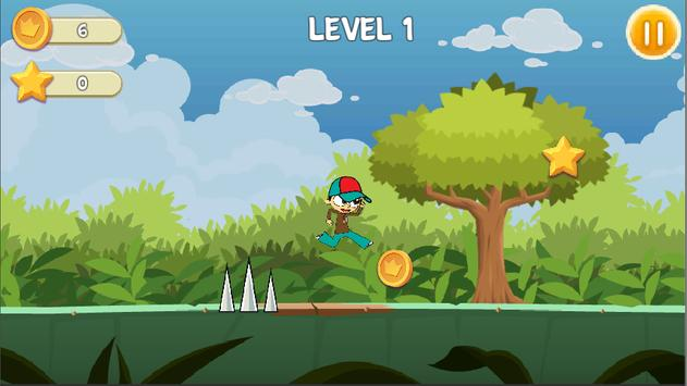 Crazy Angelo Adventure - run screenshot 1