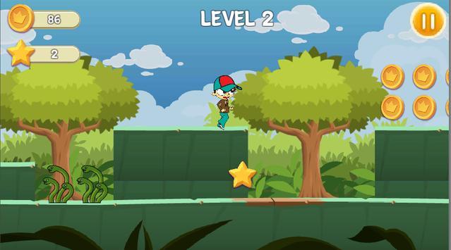 Crazy Angelo Adventure - run apk screenshot
