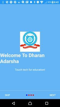 Dharan Adarsha poster