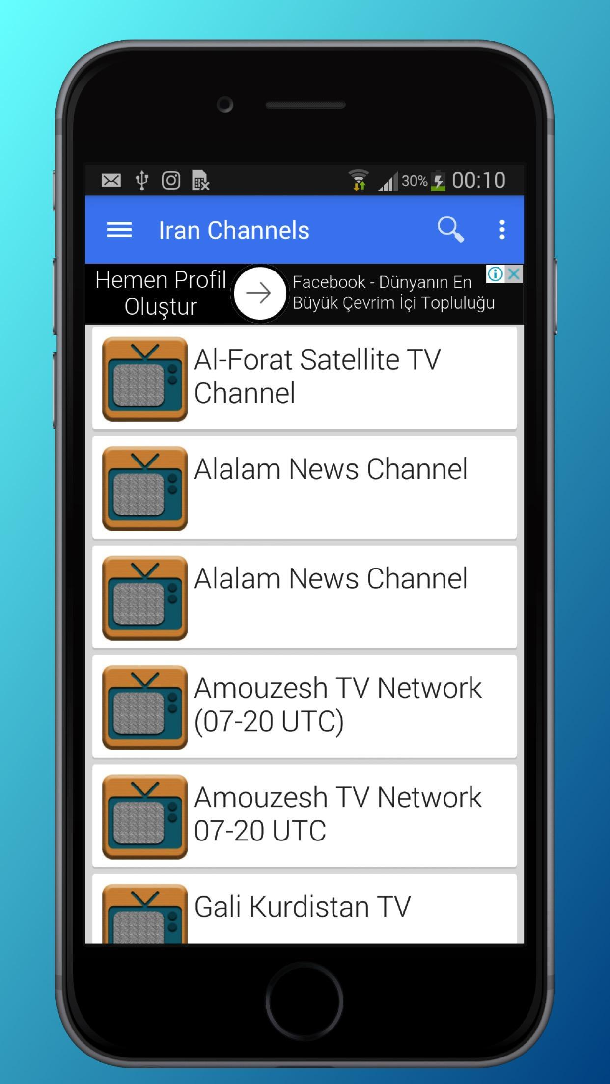 TV Iran Channels Sat Info for Android - APK Download