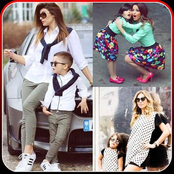 Fashion Mommy and Baby Outfits poster