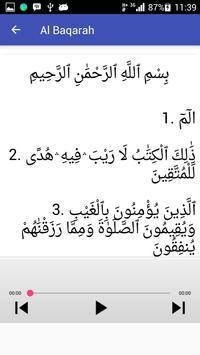 Al Baqarah Mp3 Offline screenshot 2