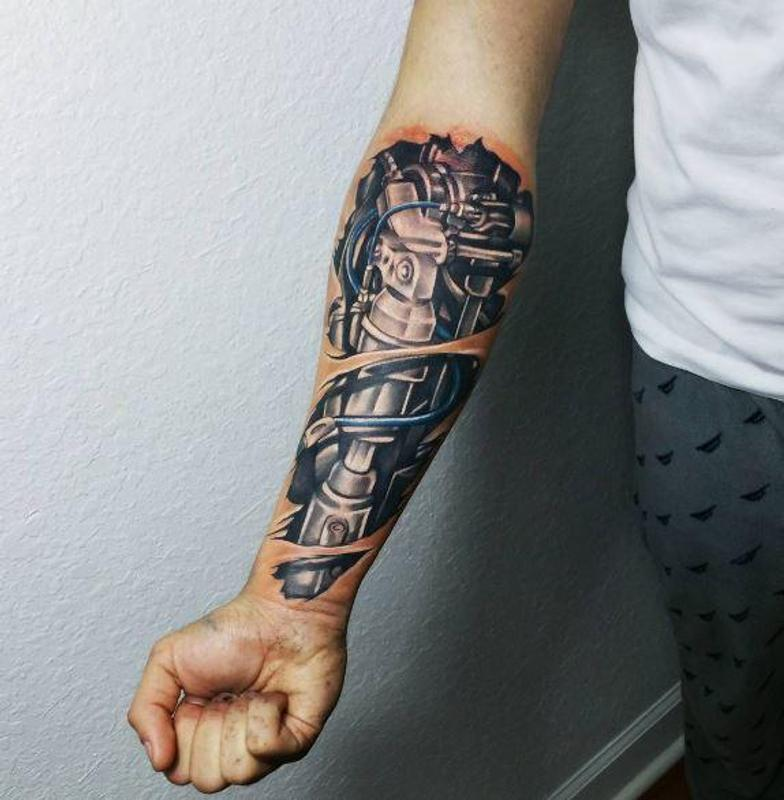 Bio Mechanical Tattoo: Biomechanical Tattoo Design For Android