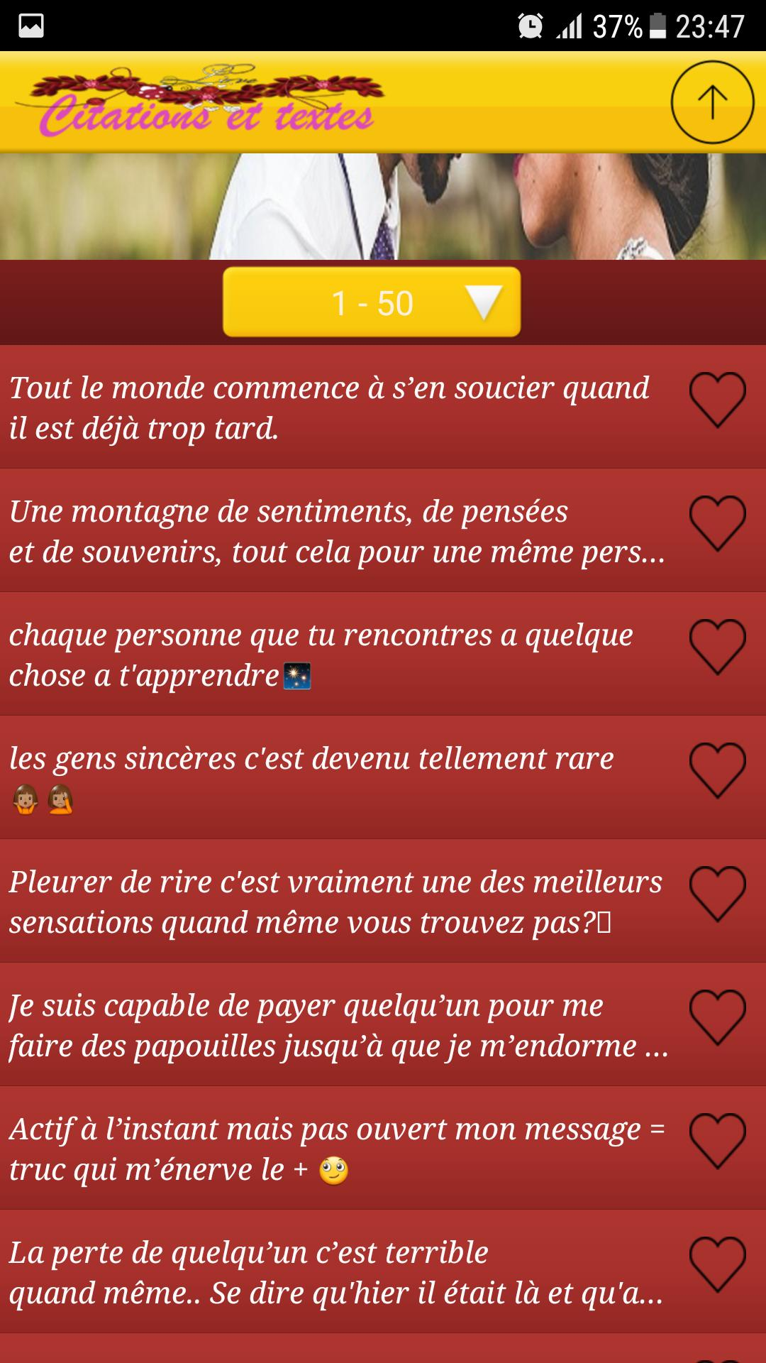 Citations Et Textes Damour 2019 For Android Apk Download
