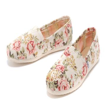 Women Floral Style Shoes poster