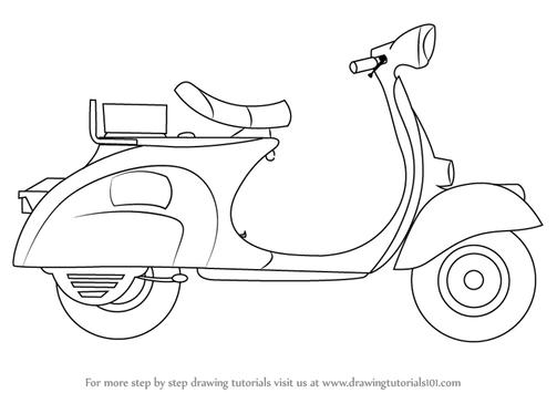 How To Draw Motorcycles screenshot 3