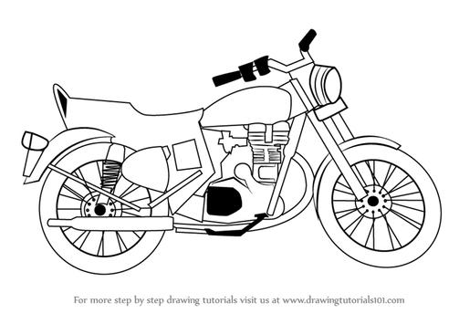 How To Draw Motorcycles apk screenshot