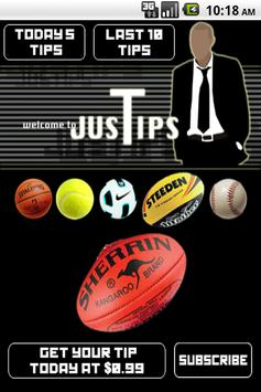 JusTips poster