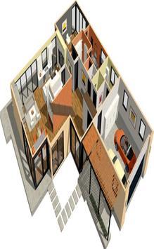 New 3D Design House 2018 poster