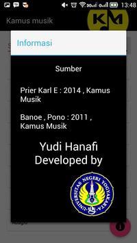 Kamus Musik Offline apk screenshot