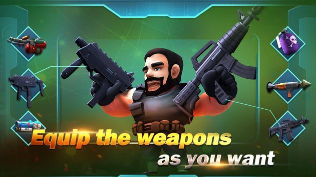 Konflik.io:Pertarungan Royale Medan perang screenshot 5