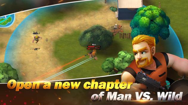 Konflik.io:Pertarungan Royale Medan perang screenshot 6