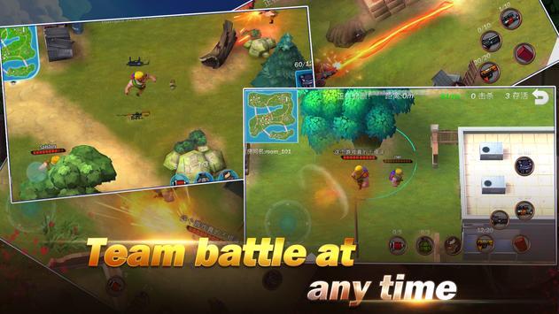 Konflik.io:Pertarungan Royale Medan perang screenshot 8