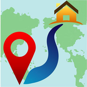 Distance from home icon