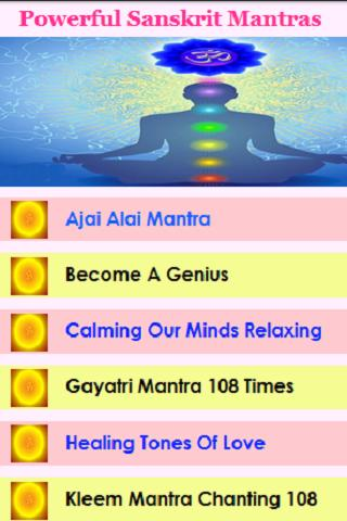 Powerful Sanskrit Mantras Audio for Android - APK Download