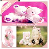 Cute Pink Teddy wallpaper icon