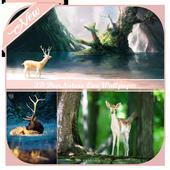 3D DeerNature Wallpaper icon