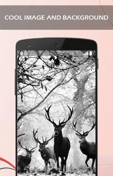3D DeerNature Wallpaper apk screenshot