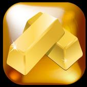 Gold 金のお守り icon