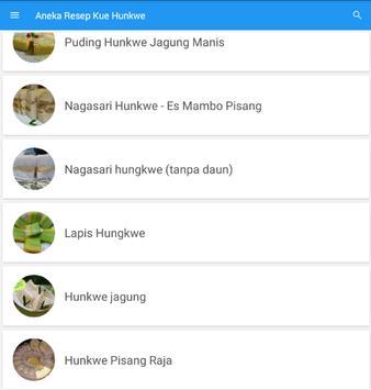 Resep Hunkwe Terbaru screenshot 4