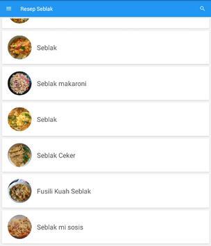 Resep Masakan Seblak Terbaru screenshot 4