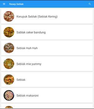 Resep Masakan Seblak Terbaru screenshot 5